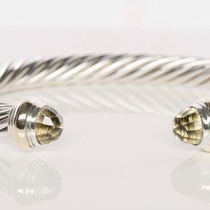 David Yurman Prasolite Cable Classic Bracelet